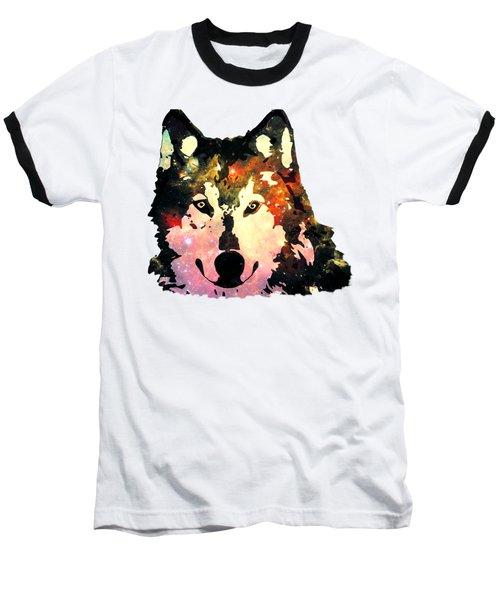 Night Wolf Baseball T-Shirt