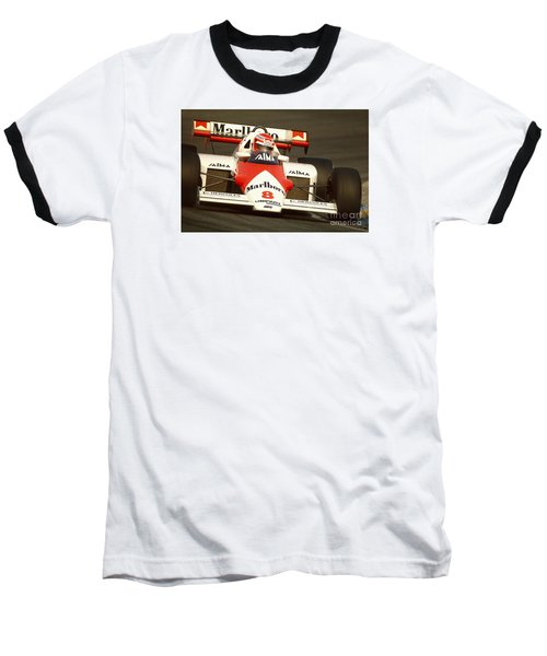 Niki Lauda. 1984 Dutch Grand Prix Baseball T-Shirt