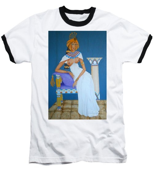 Nile Nymph -- Cleopatra, #1 In Famous Flirts Series Baseball T-Shirt