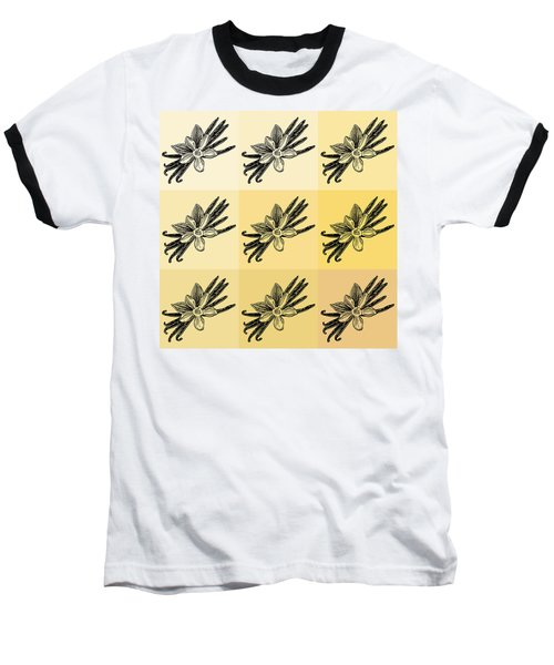 Nine Shades Of Vanilla Baseball T-Shirt