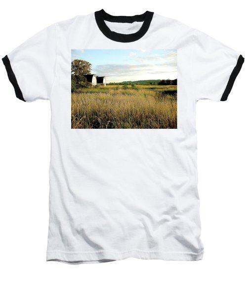 Nisqually Two Barns Baseball T-Shirt