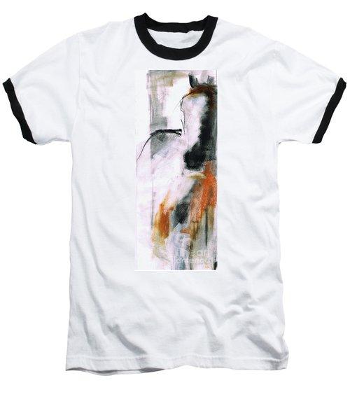 Nm Sketch Two Baseball T-Shirt by Frances Marino