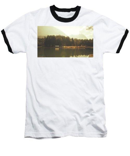 No Ceiling Baseball T-Shirt by Cesare Bargiggia