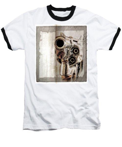 No Guns Allowed Baseball T-Shirt