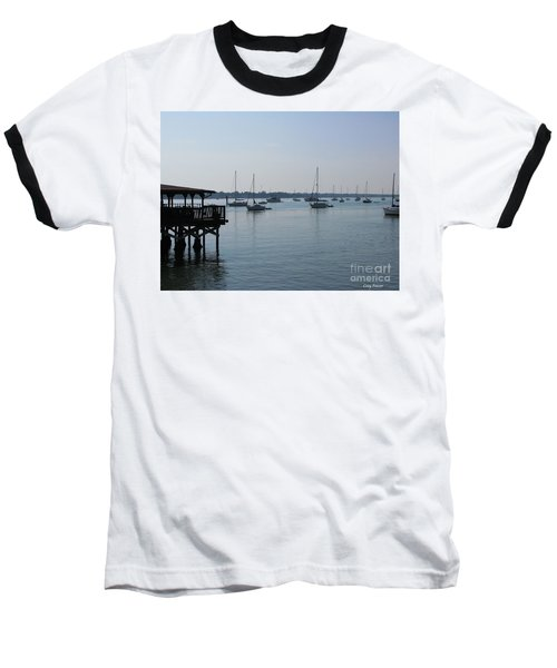 Baseball T-Shirt featuring the photograph No Wind by Greg Patzer
