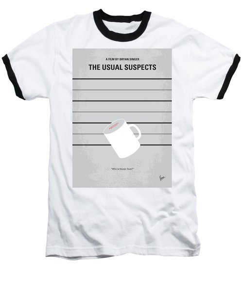 No095 My The Usual Suspects Minimal Movie Poster Baseball T-Shirt