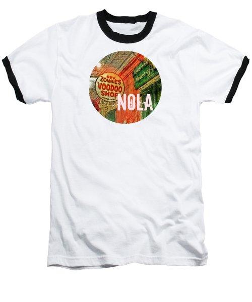 New Orleans Voodoo T Shirt Baseball T-Shirt