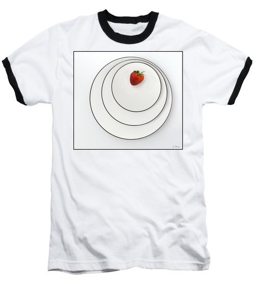 Nonconcentric Strawberry No. 2 Baseball T-Shirt