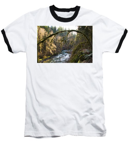 Baseball T-Shirt featuring the photograph Nooksack River by Yulia Kazansky