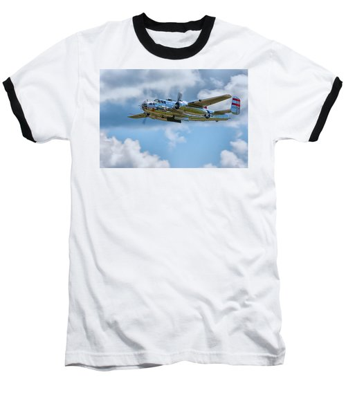 North American B-25 Mitchell Baseball T-Shirt
