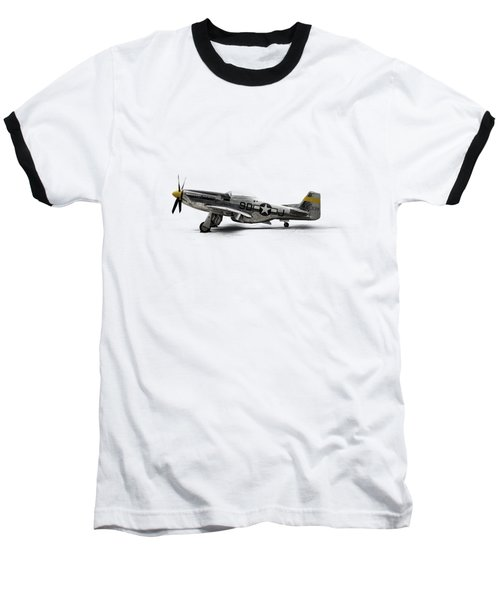 North American P-51 Mustang Baseball T-Shirt