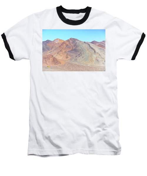 Baseball T-Shirt featuring the photograph North Of Avawatz Mountain by Jim Thompson