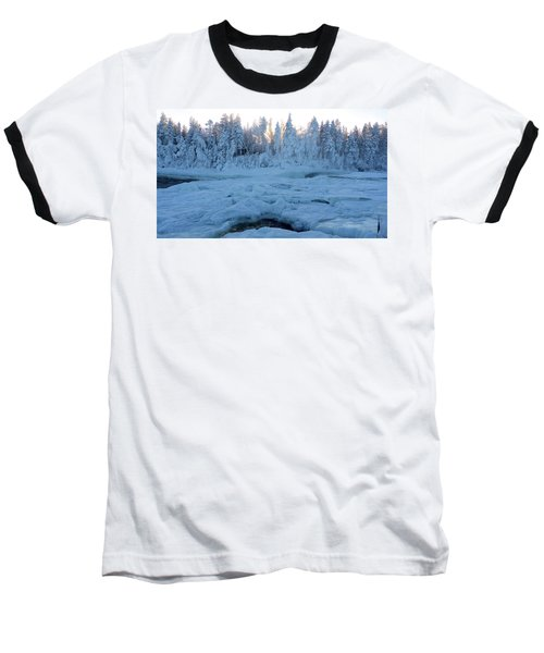 North Of Sweden Baseball T-Shirt by Tamara Sushko