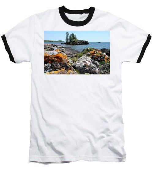 North Shore Beauty Baseball T-Shirt by Sandra Updyke