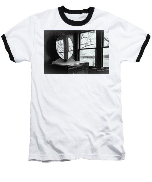 North Shore House Baseball T-Shirt by Nicki McManus