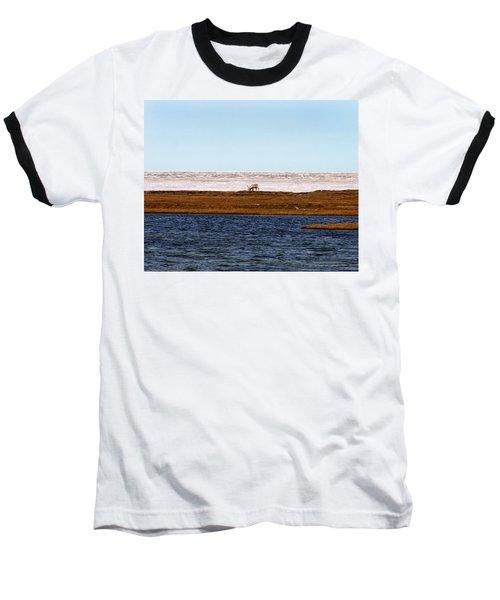 North Slope Baseball T-Shirt by Anthony Jones