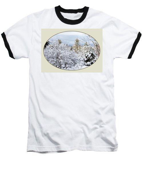 northeast USA photography button Baseball T-Shirt