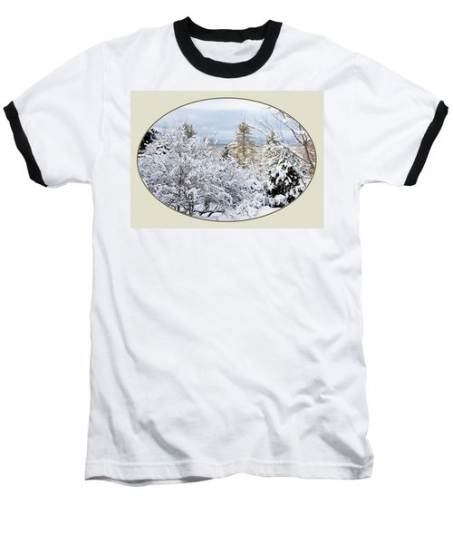 northeast USA photography button Baseball T-Shirt