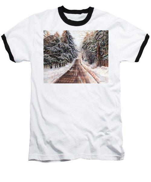 Northeast Winter Baseball T-Shirt by Shana Rowe Jackson