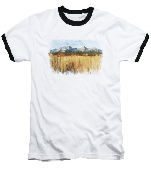 Baseball T-Shirt featuring the painting Not Far Away by Ivana Westin