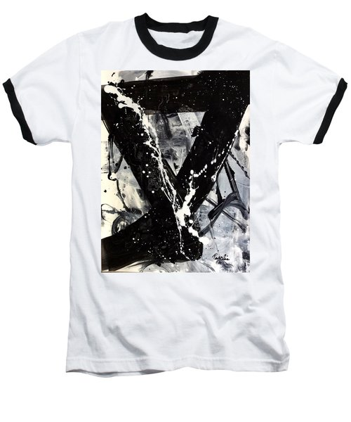 Not Just Black And White Baseball T-Shirt