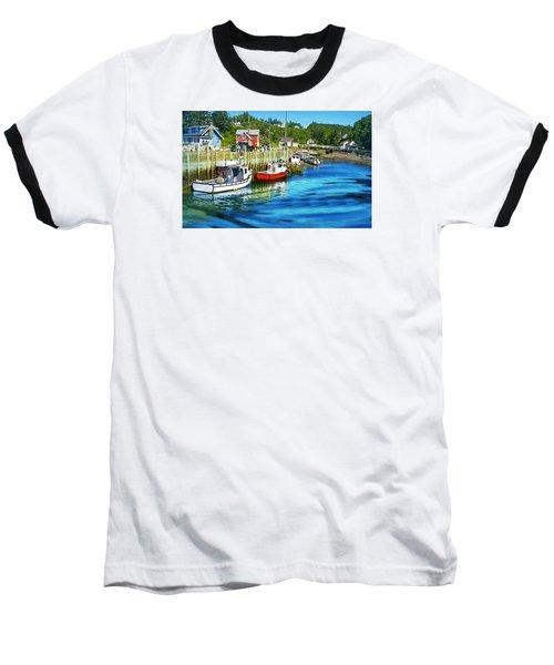 Baseball T-Shirt featuring the photograph Nova Scotia by Robin Regan