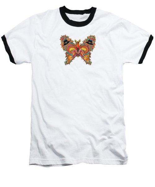 November Butterfly Baseball T-Shirt