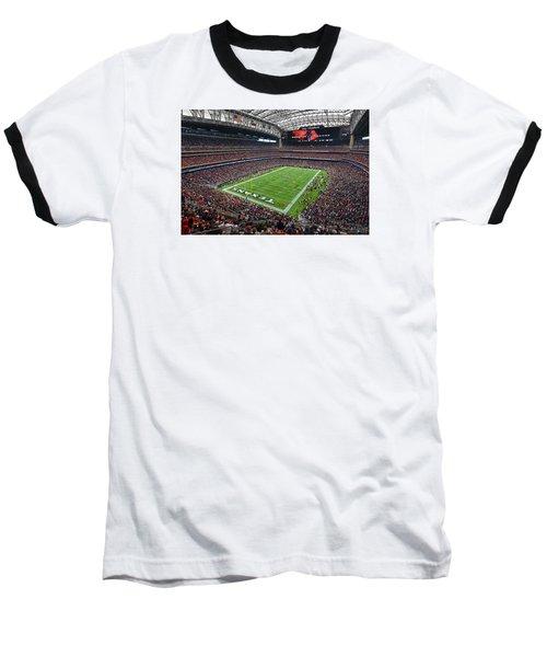 Nrg Stadium - Houston Texans  Baseball T-Shirt