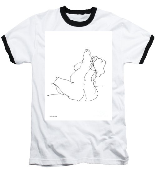 Nude-female-drawings-20 Baseball T-Shirt