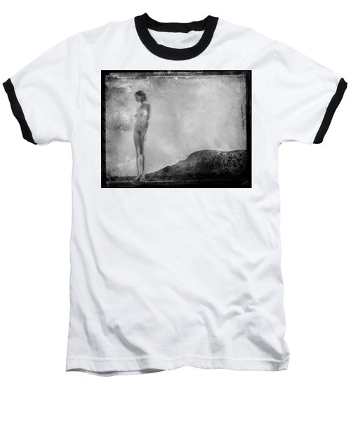 Nude On The Fence, Galisteo Baseball T-Shirt