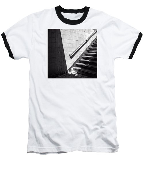 Ny Subway Stairs Baseball T-Shirt
