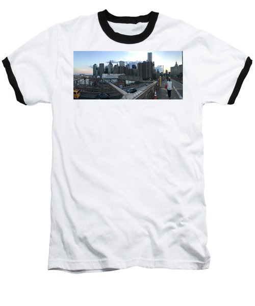 NYC Baseball T-Shirt by Ashley Torres