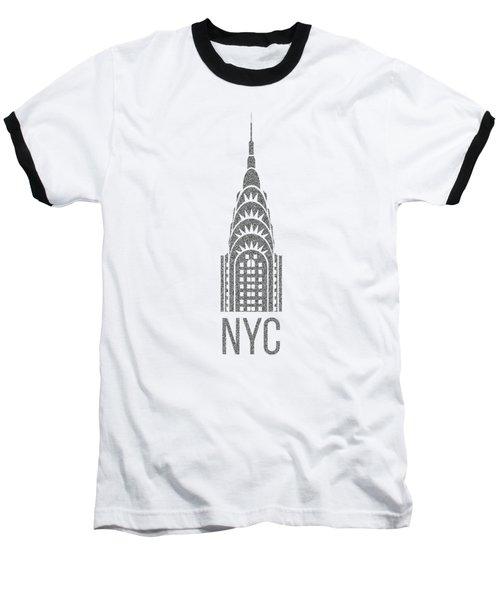 Nyc New York City Graphic Baseball T-Shirt