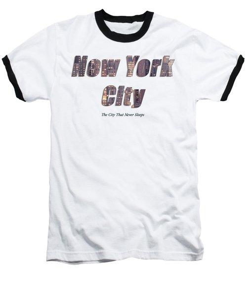 Nyc T-shirt Baseball T-Shirt