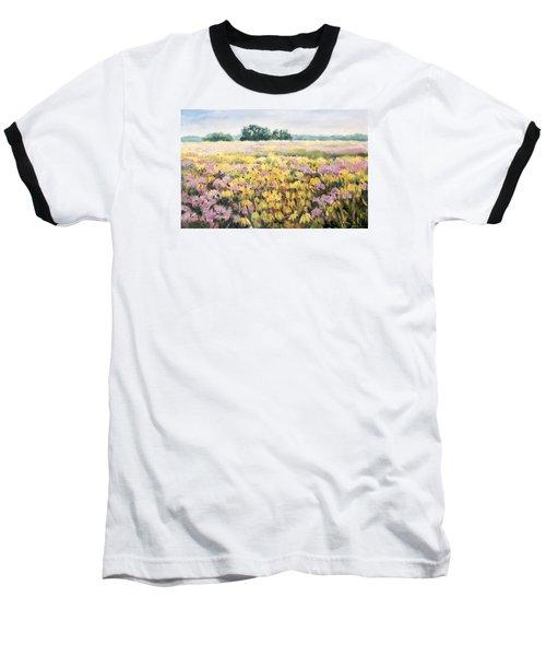 Nygren Wetlands Baseball T-Shirt by Alexandra Maria Ethlyn Cheshire
