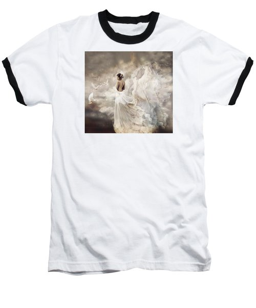 Nymph Of The Sky Baseball T-Shirt