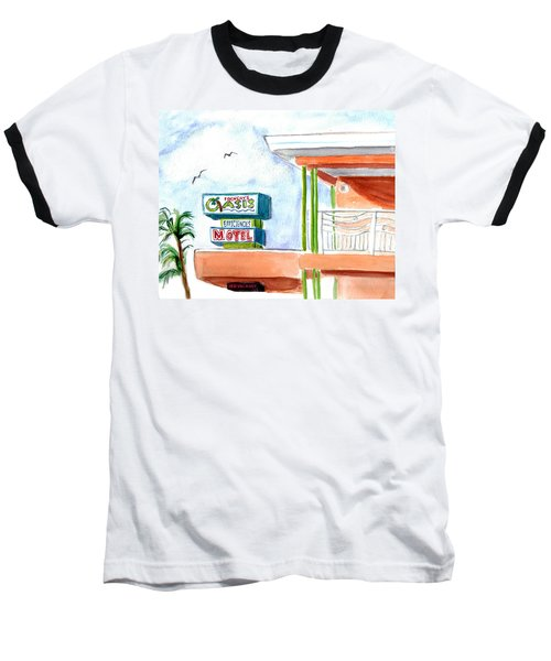 Oasis Baseball T-Shirt by Clara Sue Beym