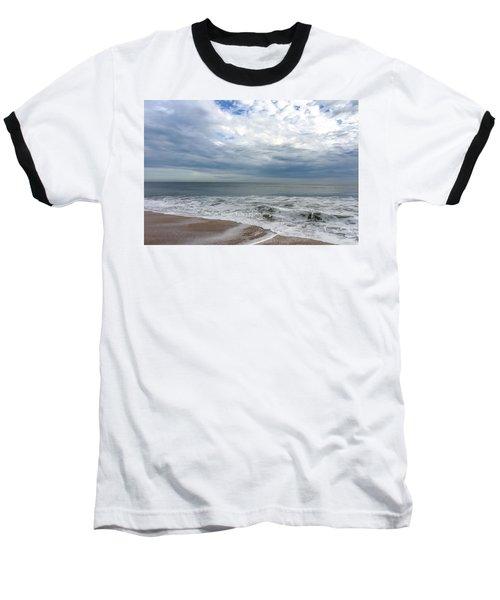 Ocean Blue Baseball T-Shirt