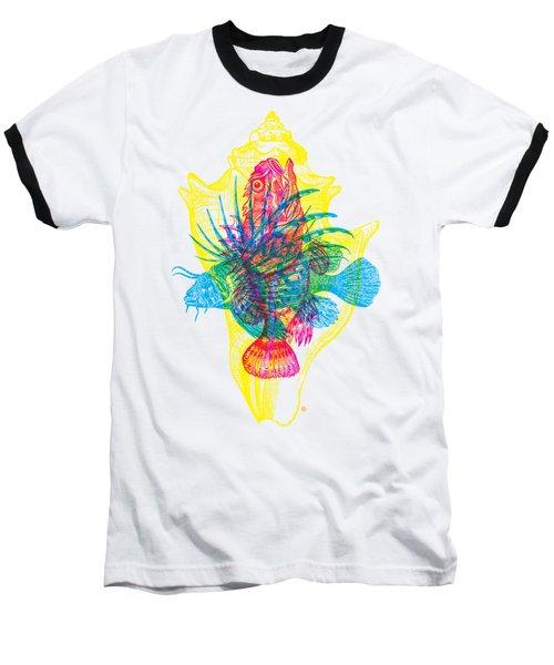 Ocean Creatures Baseball T-Shirt