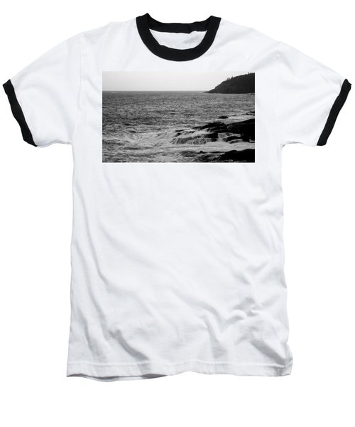 Ocean Drive Baseball T-Shirt by Greg DeBeck
