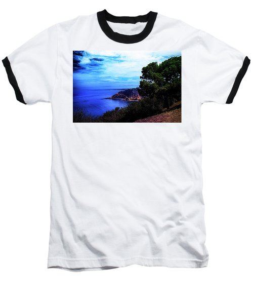 Baseball T-Shirt featuring the photograph Ocean Hill by Joseph Hollingsworth