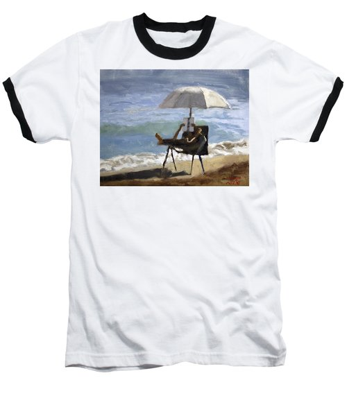 Ocean Reader Baseball T-Shirt