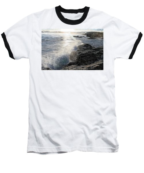 Ocean Splash Baseball T-Shirt