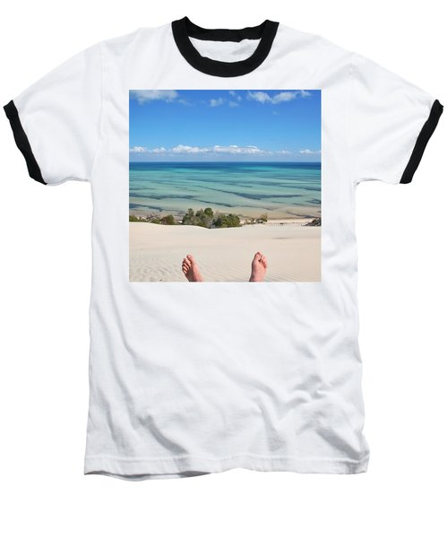 Ocean Views Baseball T-Shirt