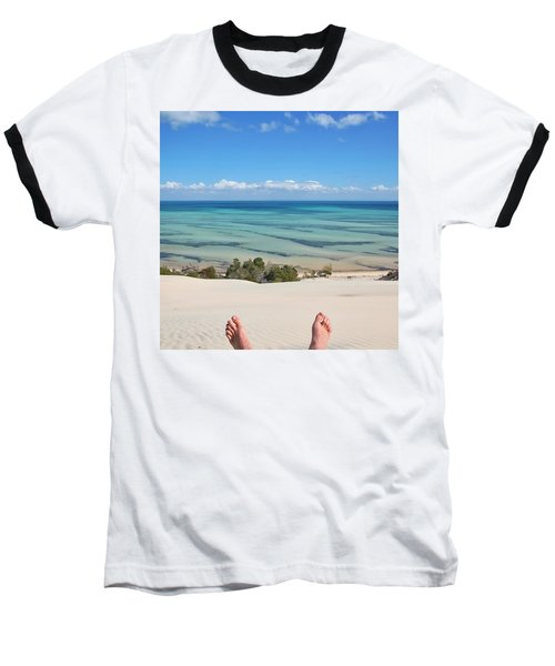 Ocean Views Baseball T-Shirt
