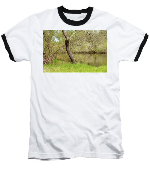 Baseball T-Shirt featuring the photograph Oceano Lagoon by Art Block Collections