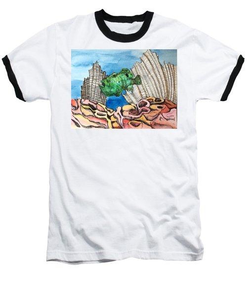 Ocellated Frogfish Baseball T-Shirt