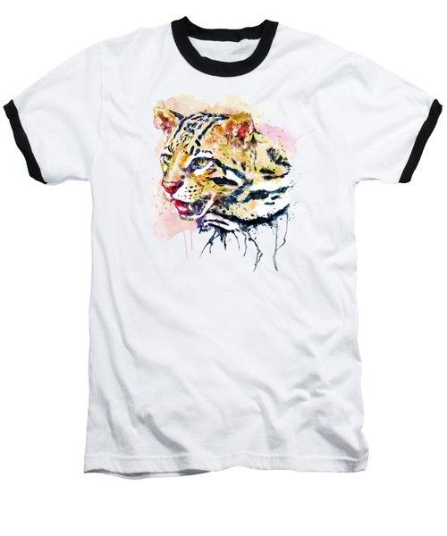 Ocelot Head Baseball T-Shirt