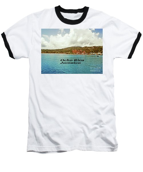 Baseball T-Shirt featuring the photograph Ocho Rios Jamaica by Gary Wonning