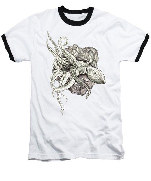 Octopus Baseball T-Shirt by Adria Trail